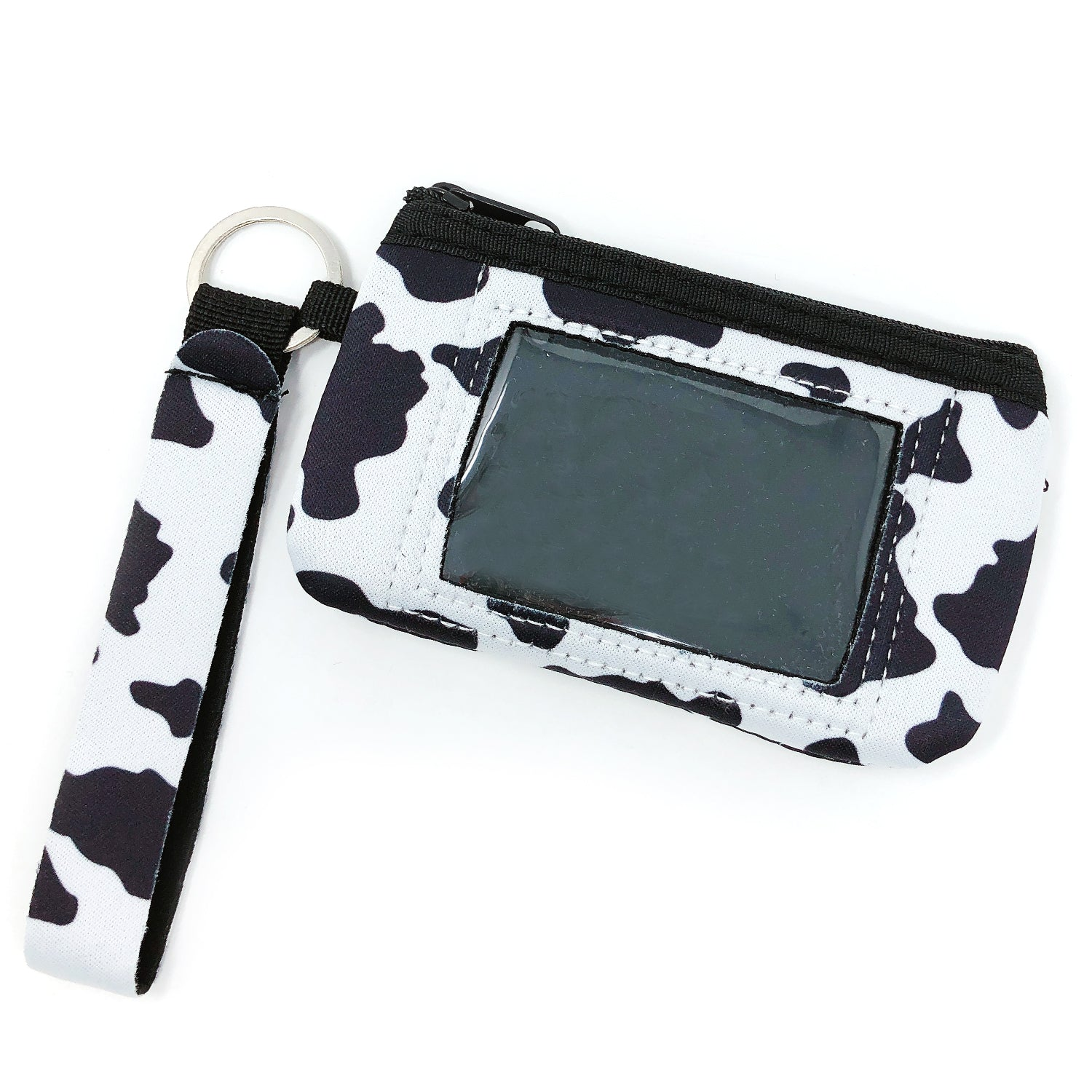 Wrapables Neoprene Mini Wristlet Wallet / Credit Card ID Holder with Lanyard