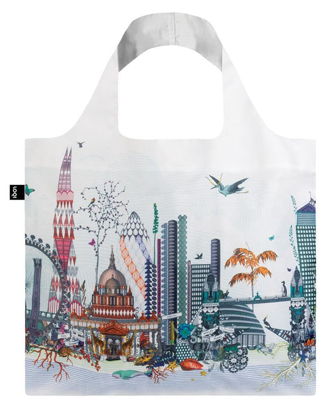 LOQI Artist Kristjana S Williams Interiors London Reusable Shopping Bag