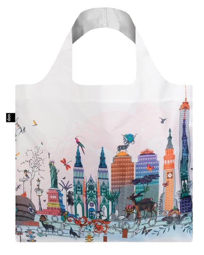 LOQI Artist Kristjana S Williams Interiors New York Reusable Shopping Bag