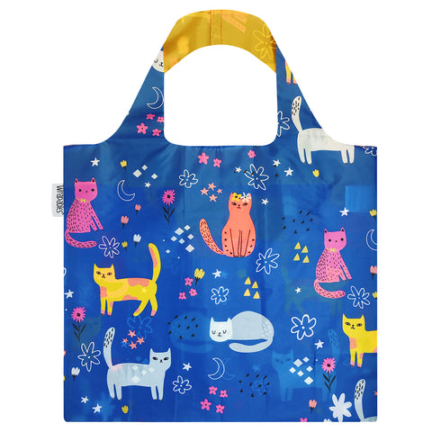 LOQI Airport Reusable Shopping Bags (Set of 3), Arrivals, Departures, Icons
