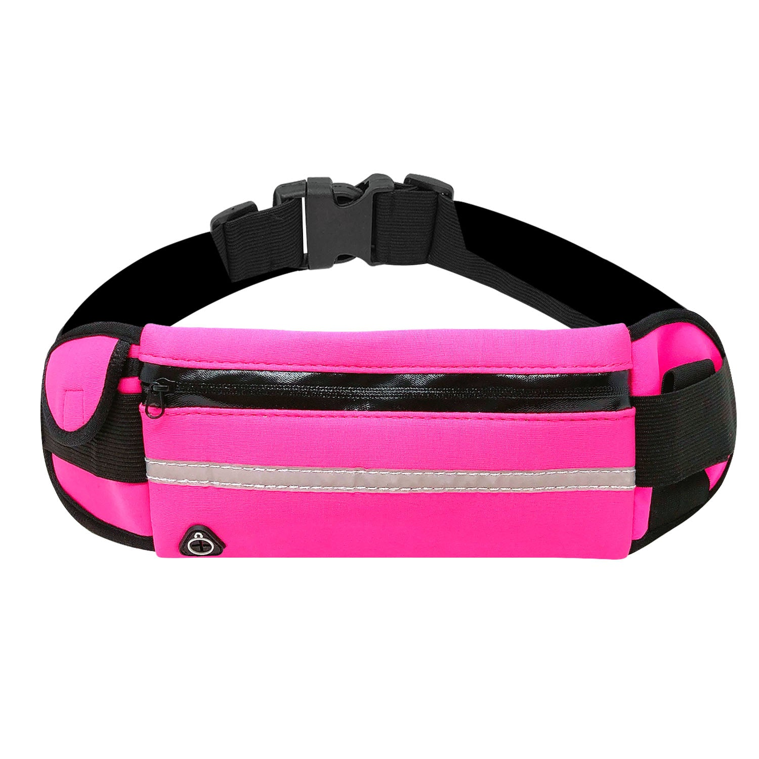 Wrapables Adjustable Neoprene Running Belt, Waterproof Fanny Pack, Workout Pouch for Running Jogging Hiking