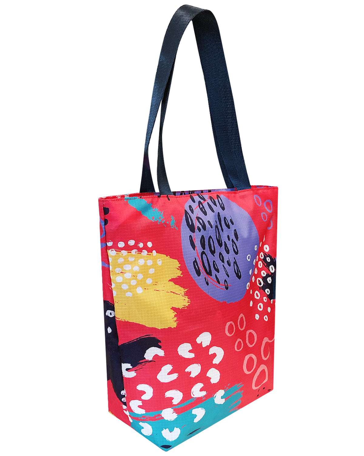 Wrapables Carryall Shopping Travel Tote Bag with Durable Ripstop Polyester - Foldable, Waterproof, and OEKO-TEX Certified