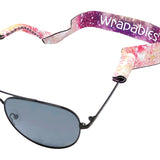 Wrapables Adjustable Eyewear Retainer, Sunglass Strap with Neoprene Floating Material for Sports and Outdoors (Set of 3), Summer Gateaway