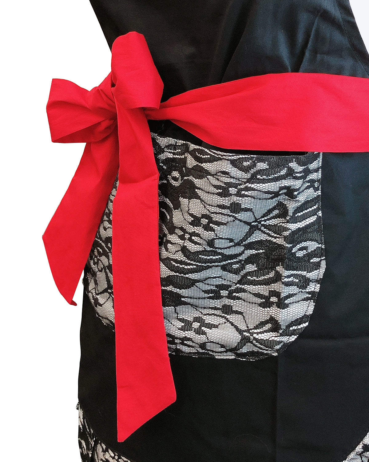 Wrapables Classic Vintage Apron, Stylish Cooking Apron