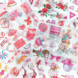 Wrapables Washi Scrapbooking Stickers Box Set