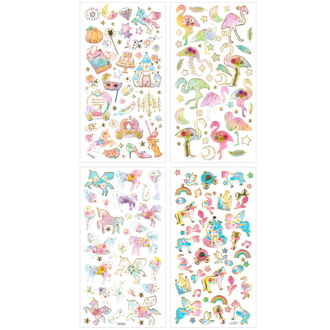 Wrapables Princess Party Washi Masking Tape (set of 3)