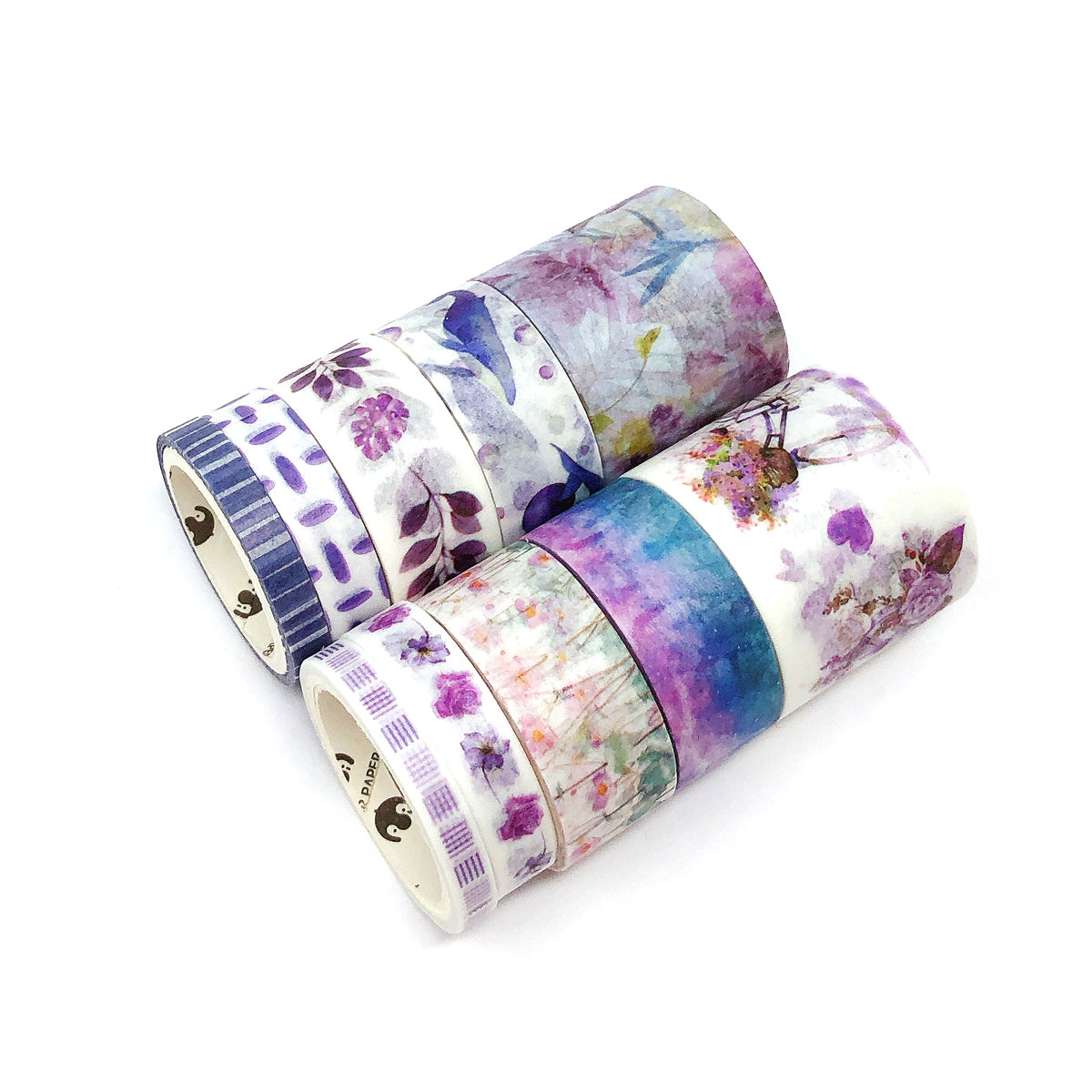 Wrapables Decorative Washi Tape Box Set (10 Rolls)