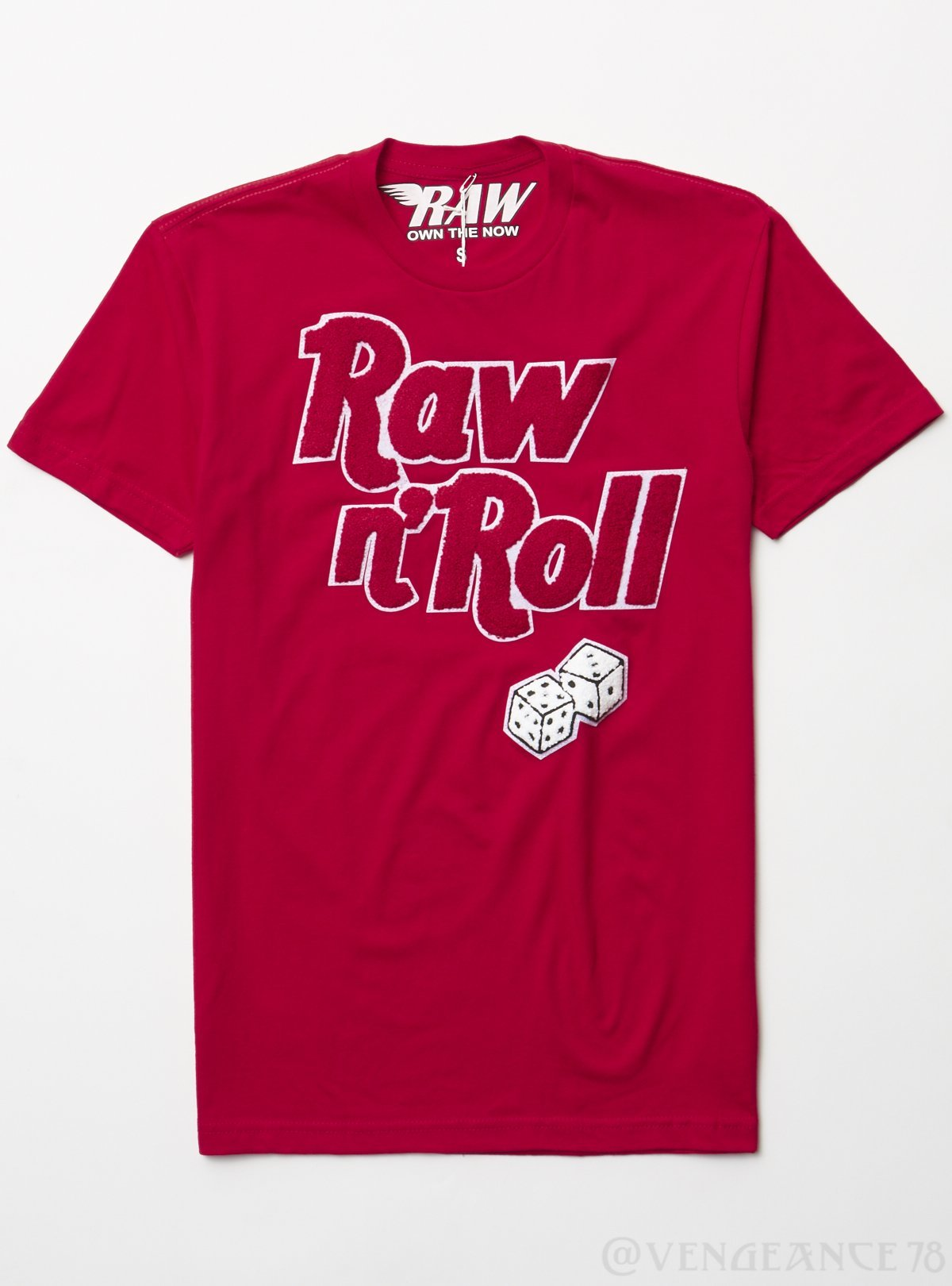Rawyalty T-Shirt - Raw and Roll - Red