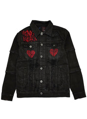 Focus Jacket - Heart Breaker - Black And Red - 4005-J