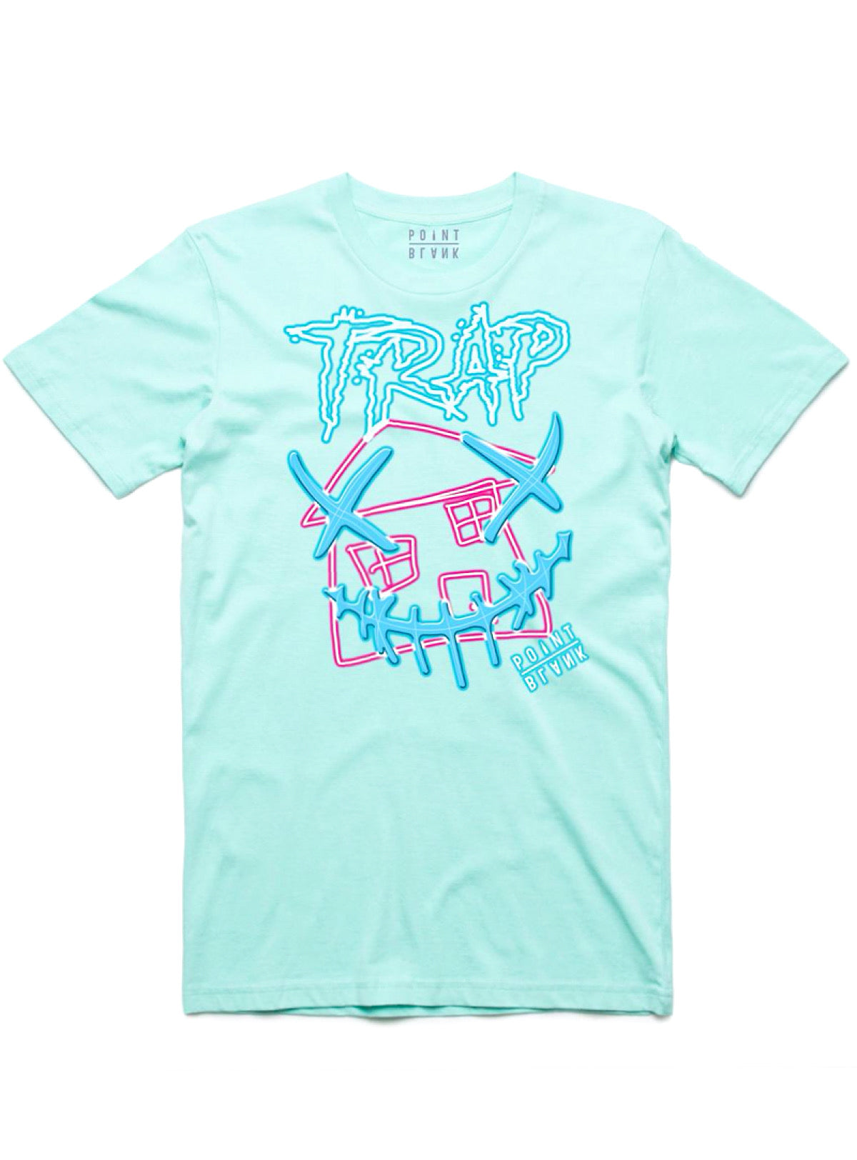 Point Blank T-Shirt - Trap House - Mint