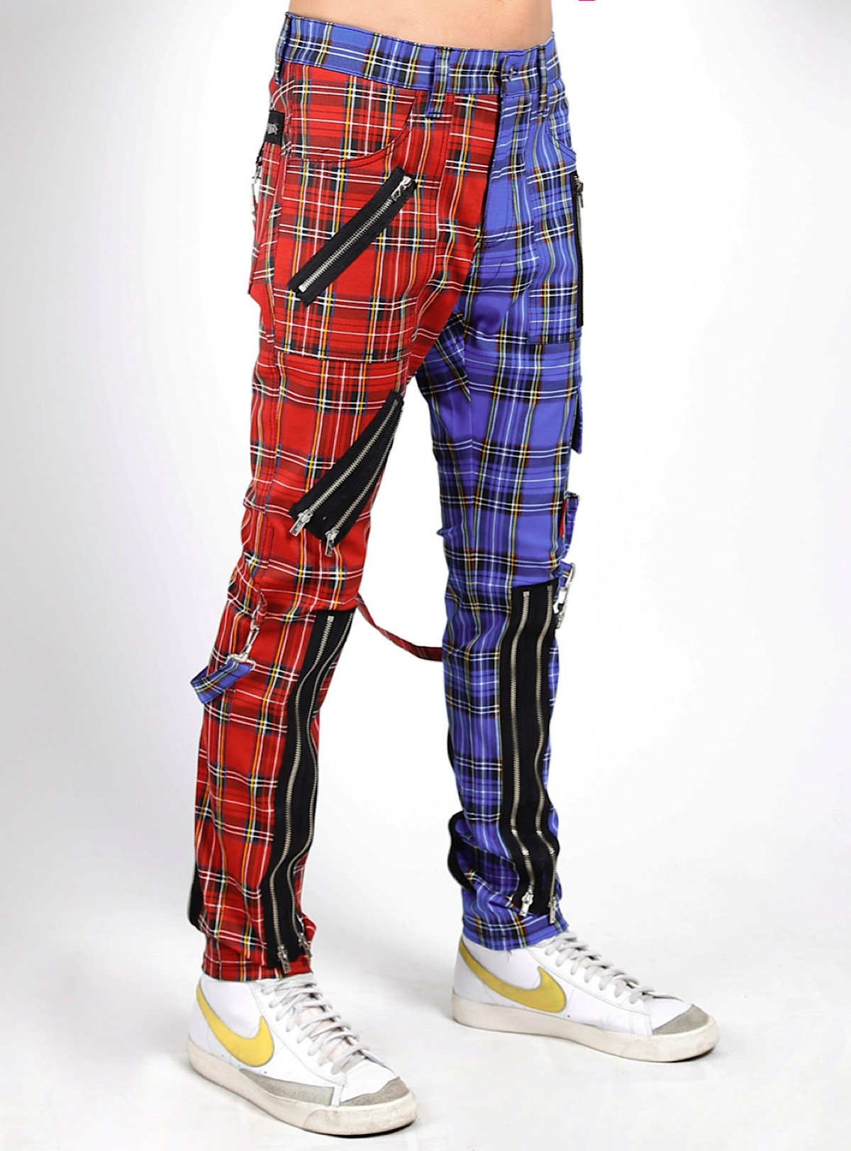 Buyer's Choice Pants - Madness Pant - Red and Purple Plaid