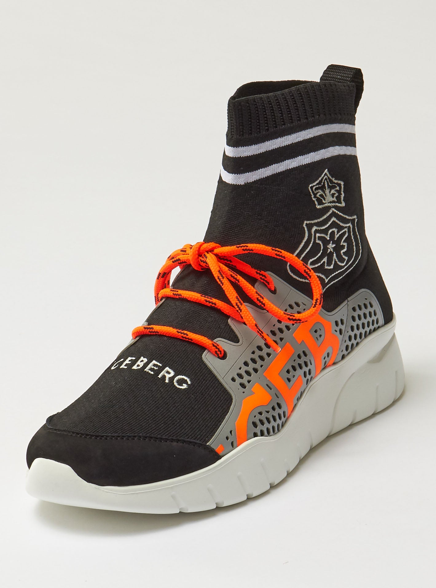 Iceberg Shoes - Sock Sneakers - Black
