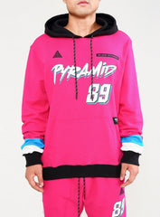 Black Pyramid - Sweatsuit - Pink And Black
