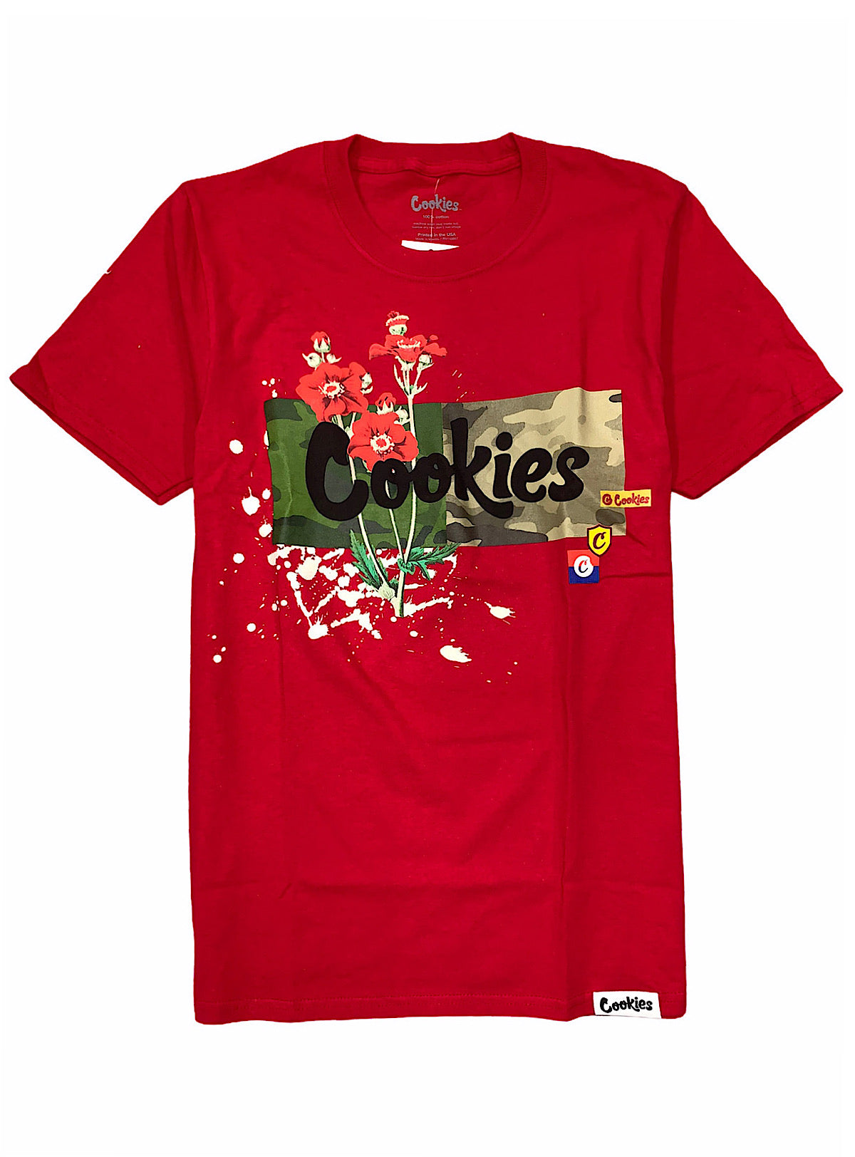 Cookies T-Shirt - Backcountry Logo - Red - 1546T4309