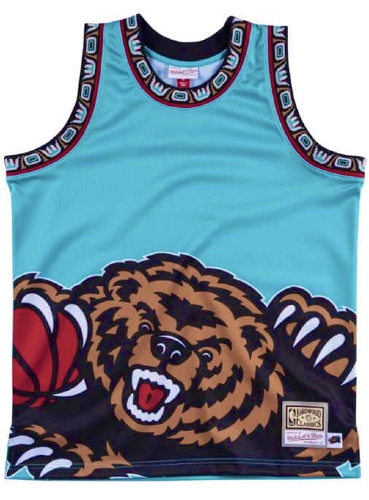 Mitchell & Ness Jersey - NBA Big Face Grizzlies - Aqua