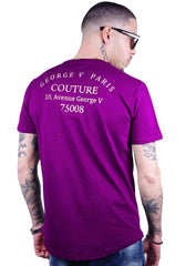 George V T-Shirt - Money - Purple - GV-2017