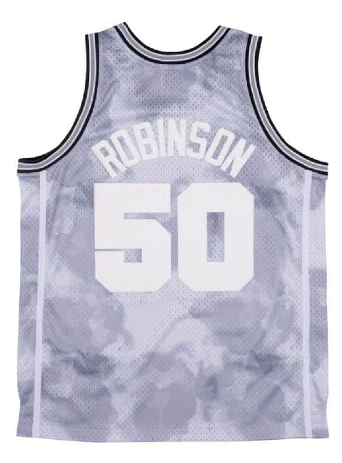 Mitchell & Ness Jersey - Spurs 98 - Cloudy Skies Grey