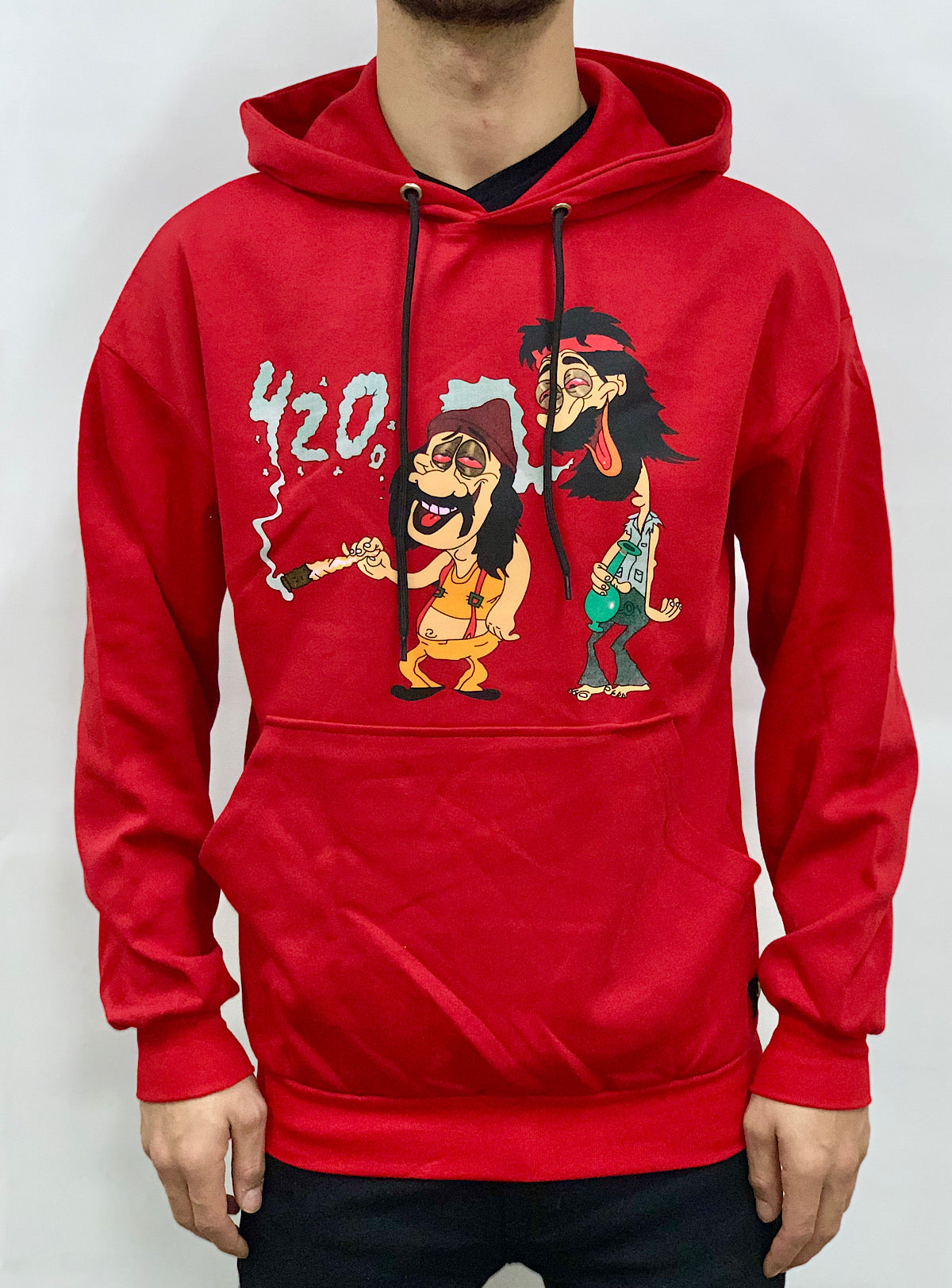 Buyer's Choice Hoodie - Smoke - Red - P9020