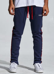 Karter Collection Track Pants - Porush - Navy - KARTQS-11