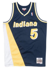 Mitchell & Ness Jersey - Indiana 33 - Navy and Yellow