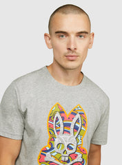 Psycho Bunny T-Shirt - Castleton - Heather Grey