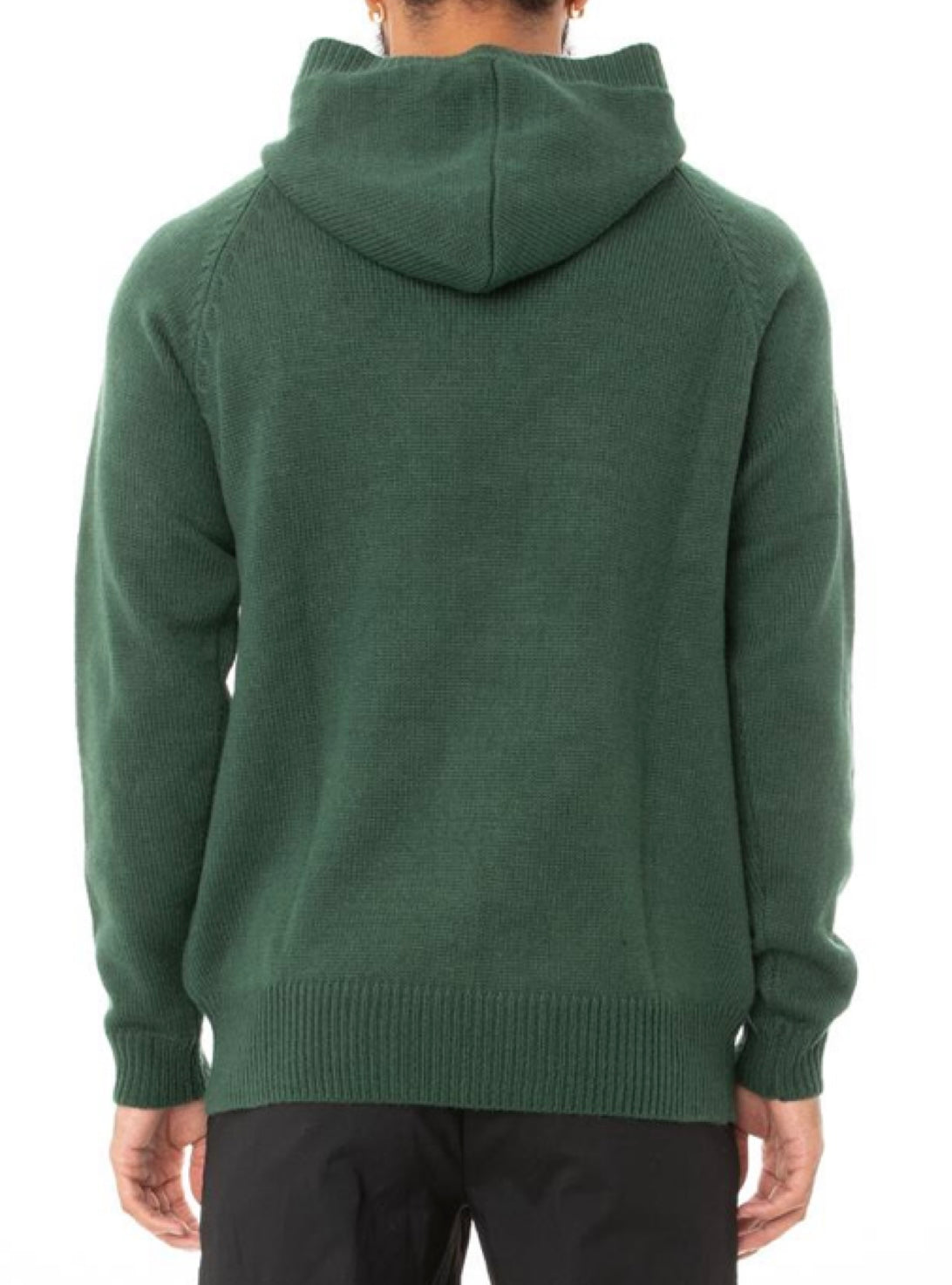 Kappa Knit Hoodie - Authentic Kasmart Man - Green - 381367W