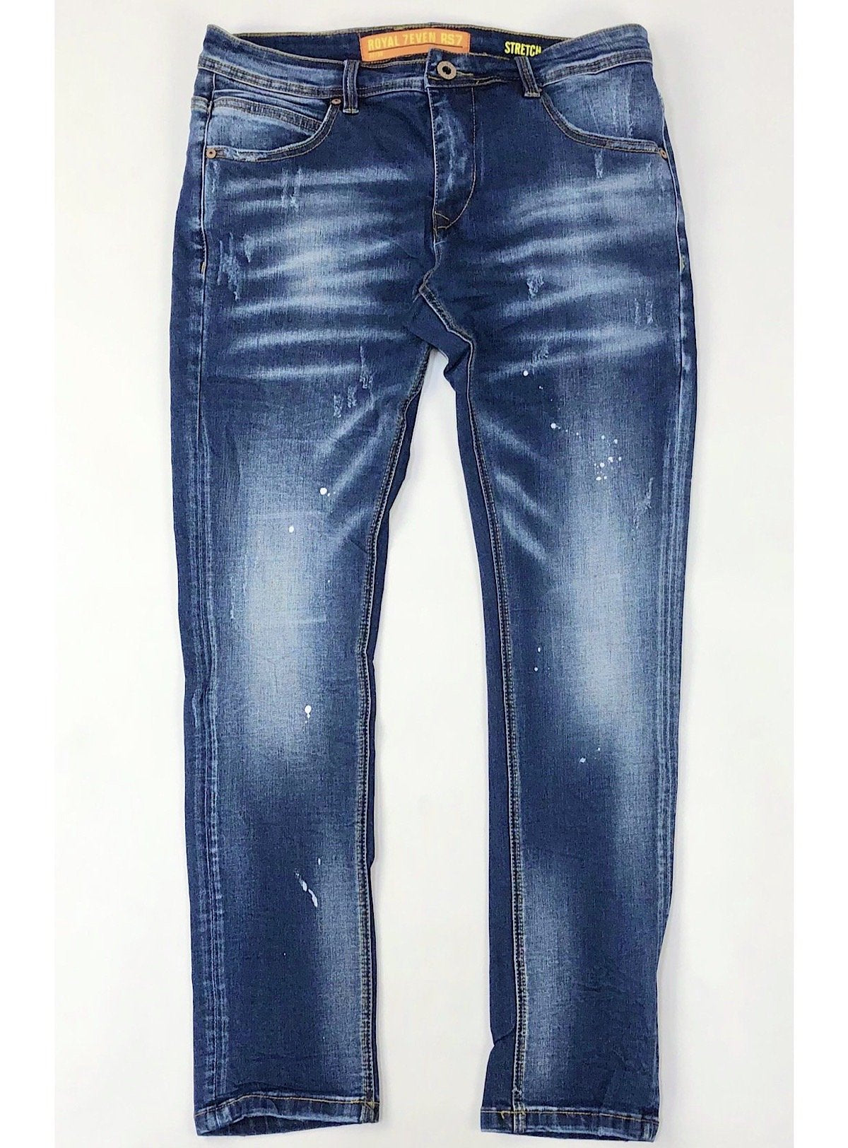 Royal 7even Jeans - Washed - Dark Blue - RS1827-164A