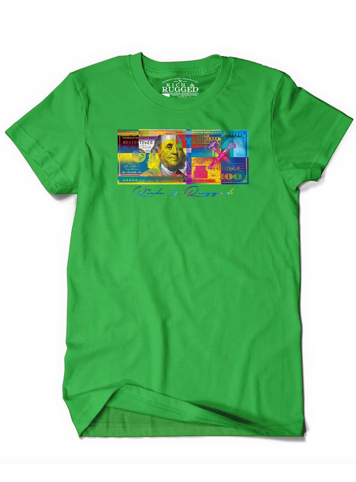 Rich & Rugged T-Shirt - Color Money - Green