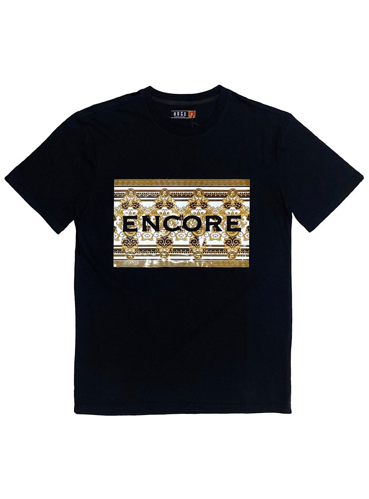 Black Pike T-Shirt - ENCORE - Black - HS0434