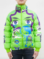 Eternity Puffer Jacket - Eyes - Volt - E6133381-VLT-MX