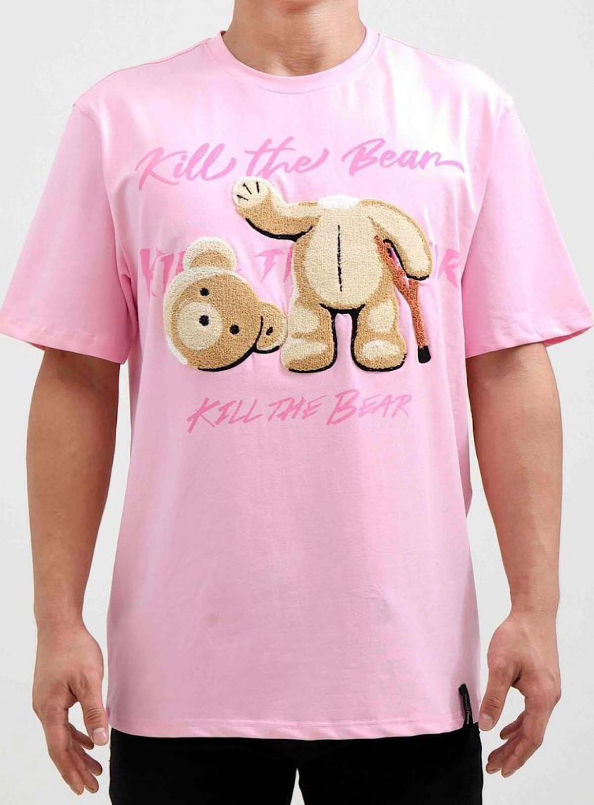 Roku Studio T-Shirt - Kill the Bear - Pink - RK1480191-PNK