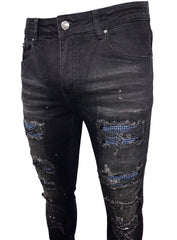 Politics Jeans - Stones - Black With Light Blue - SM-2005-04