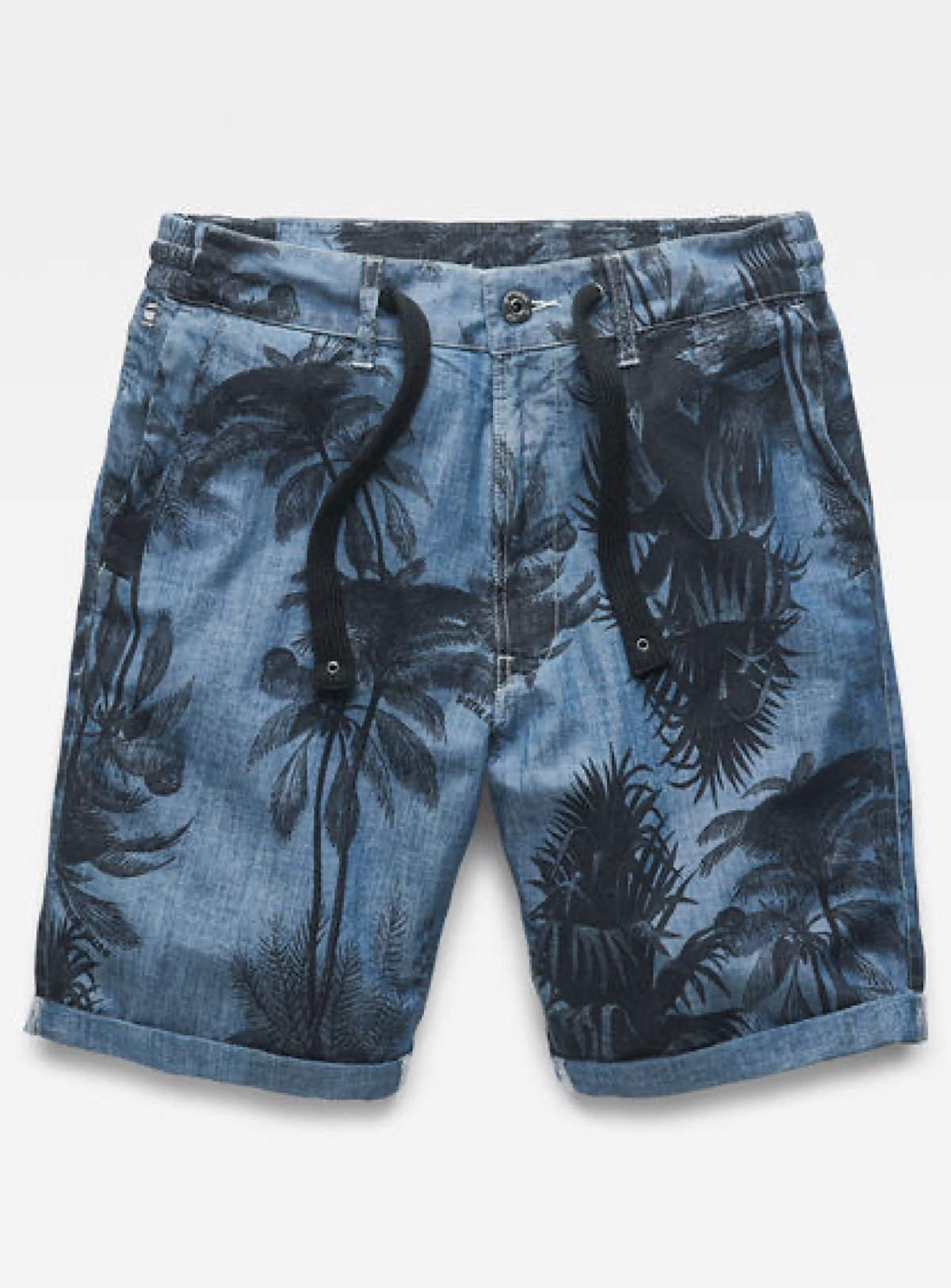 G-Star Shorts - Bronson Trainer Relaxed - Medium Aged Dark Black and Navy