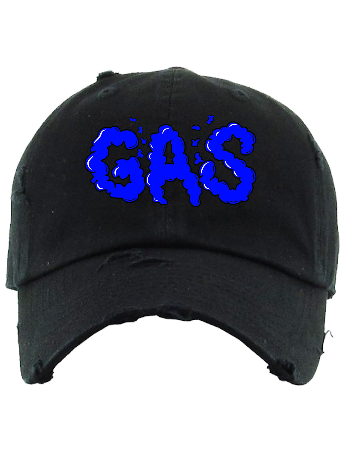 PG Apparel Hat - GAS - Black with Blue