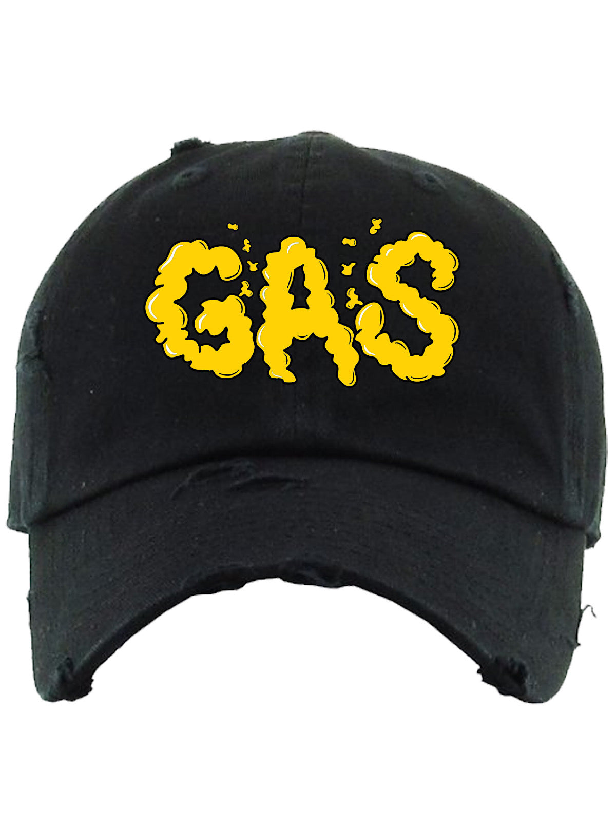PG Apparel Hat - GAS - Black and Yellow