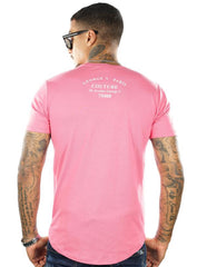 George V T-Shirt - Flamingo Car - Pink - GV2059