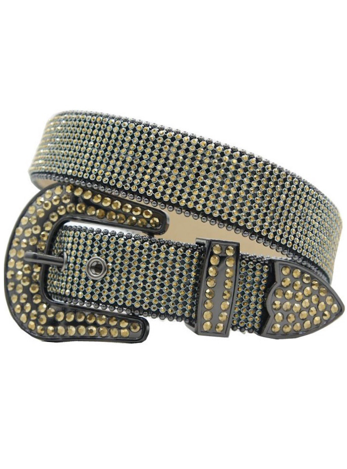 DNA Belt - Small Stones - Gold