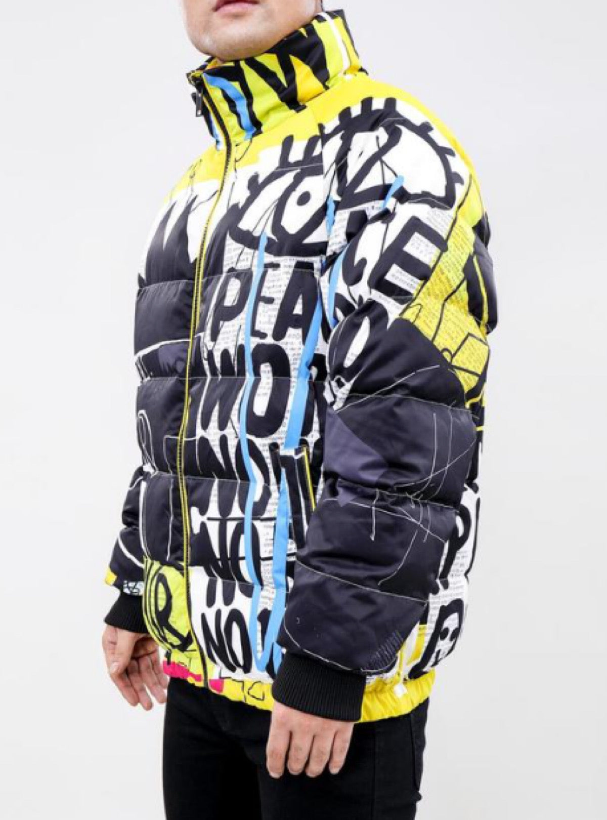 Eternity Puffer Jacket - Expression Crown - Multi - E6133380-MUL-MX