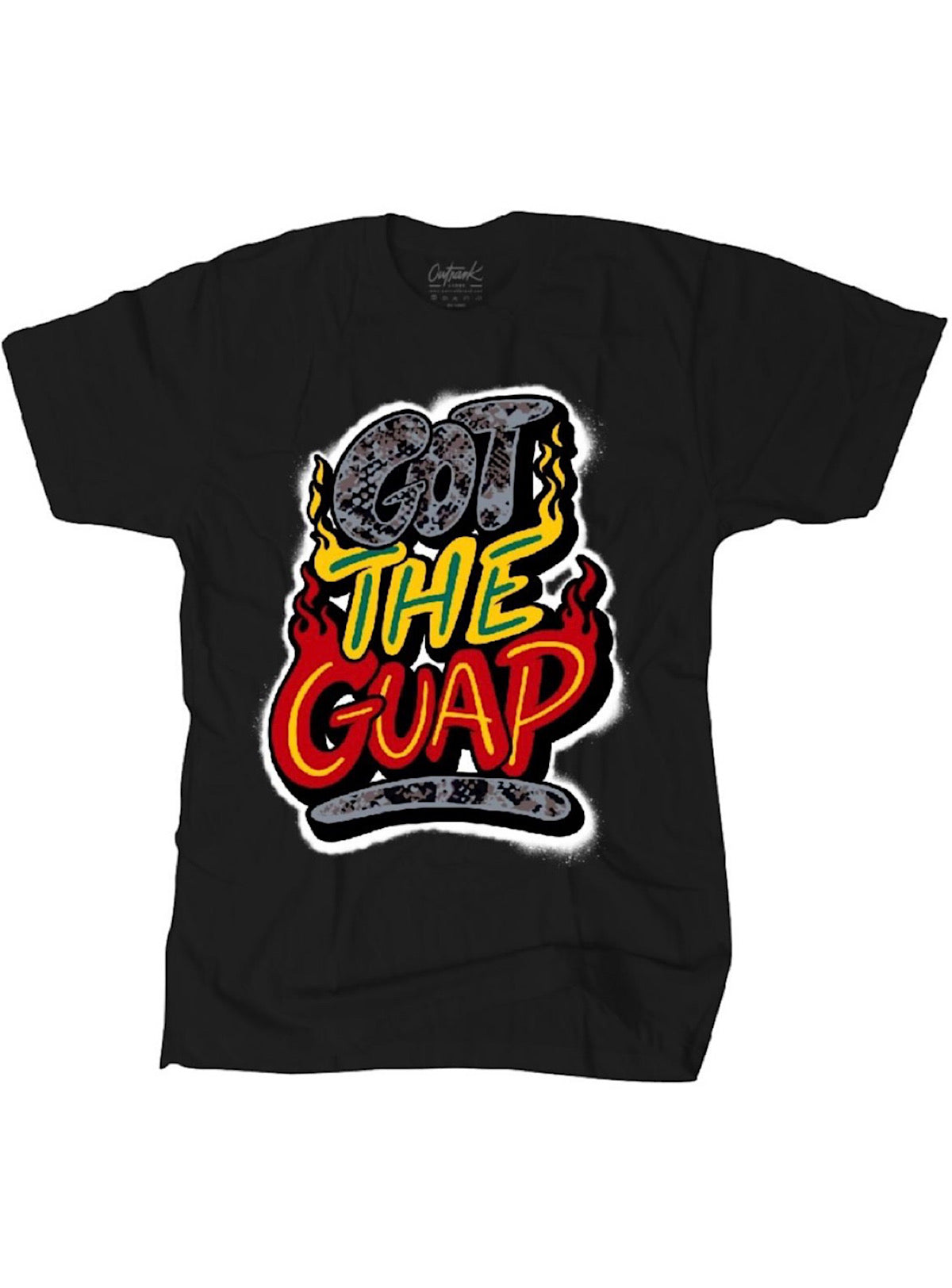 Outrank T-Shirt - Got The Guap - Black - OR1182