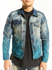 Embellish Jacket - Walter - Blue - EMBSP220-215
