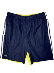 Lacoste Shorts - Sport Contrast Band - Yellow/Navy - GH2105-51