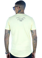 George V T-Shirt - Leopard - Pale Yellow - GV2063