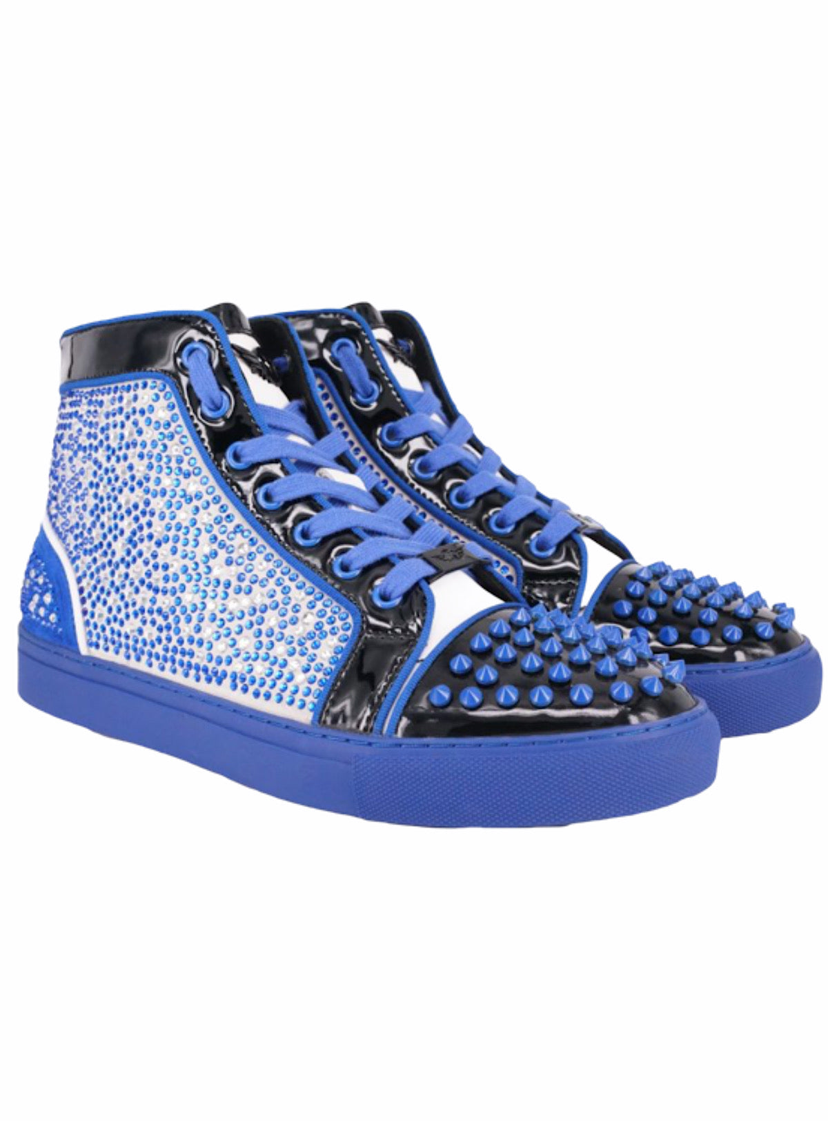 Ferrari Massari Shoes - The Razr Drip - Blue