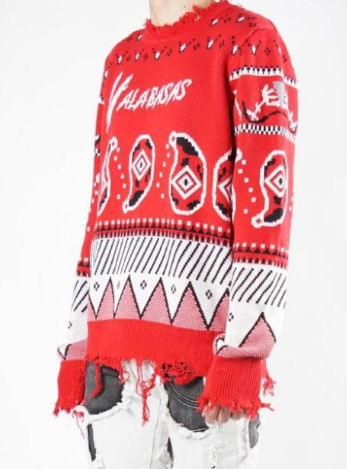 Valabasas Sweater - Pledge 2.0 - Red - VLBS2187