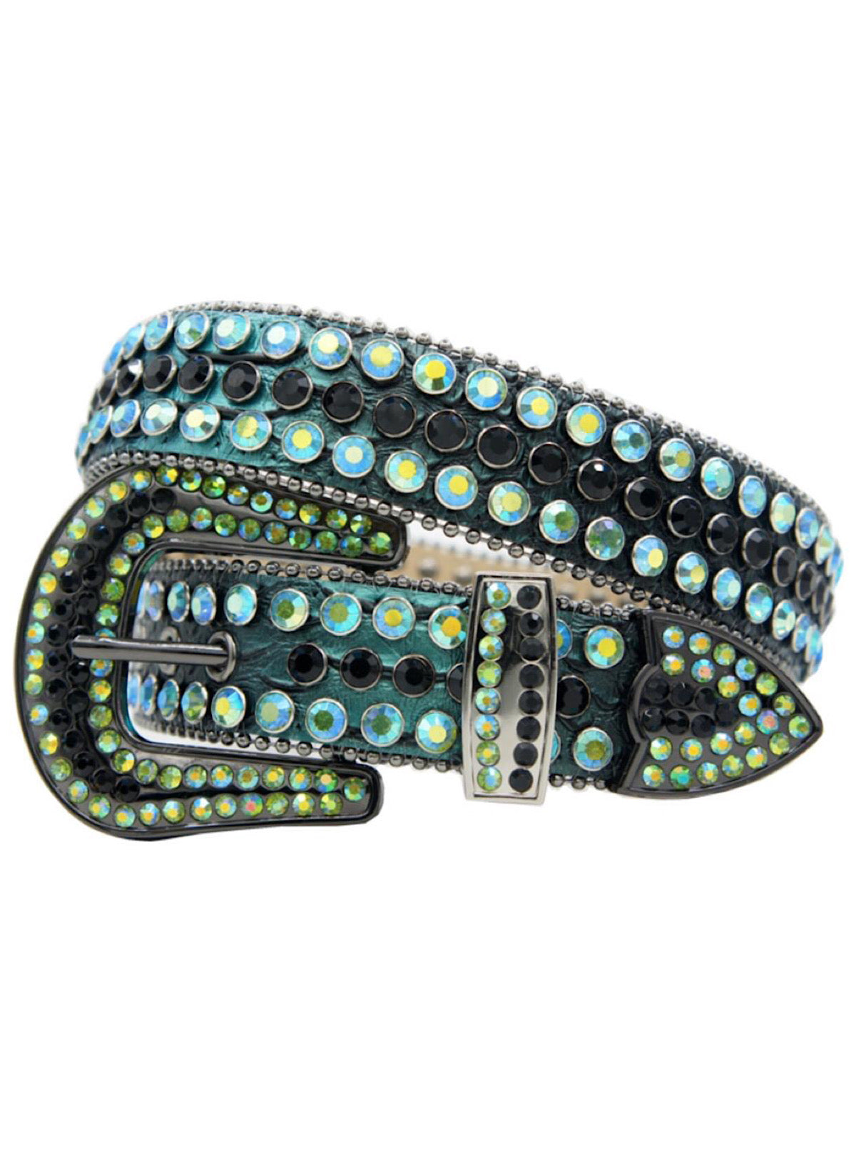 DNA Belt - Snake Skin - Green and Black