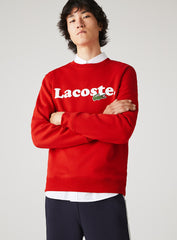 Lacoste Crewneck Sweater - Branded - Red - SH2173-51-240