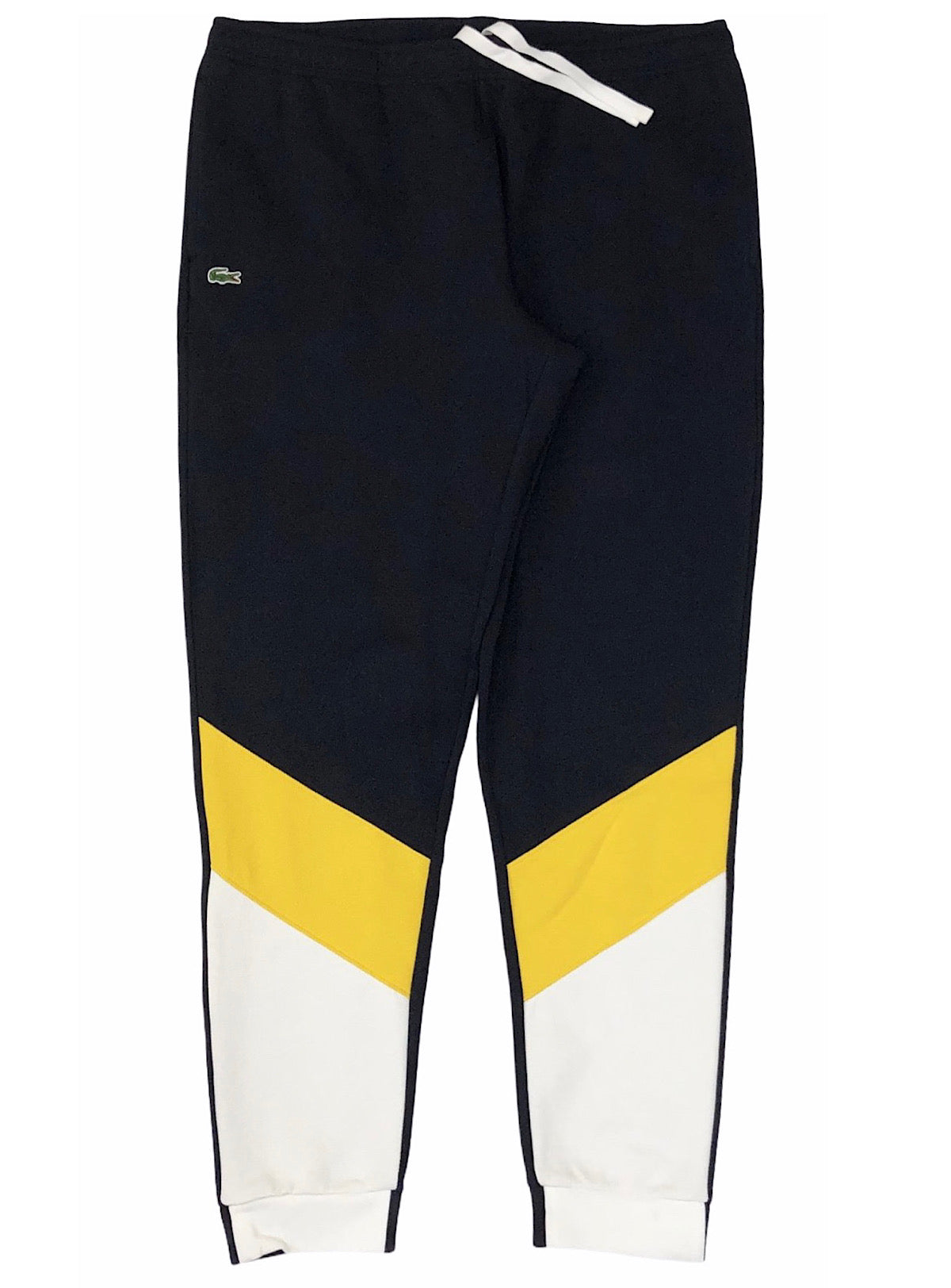 Lacoste Pants - Colorblock - Navy/Yellow/White
