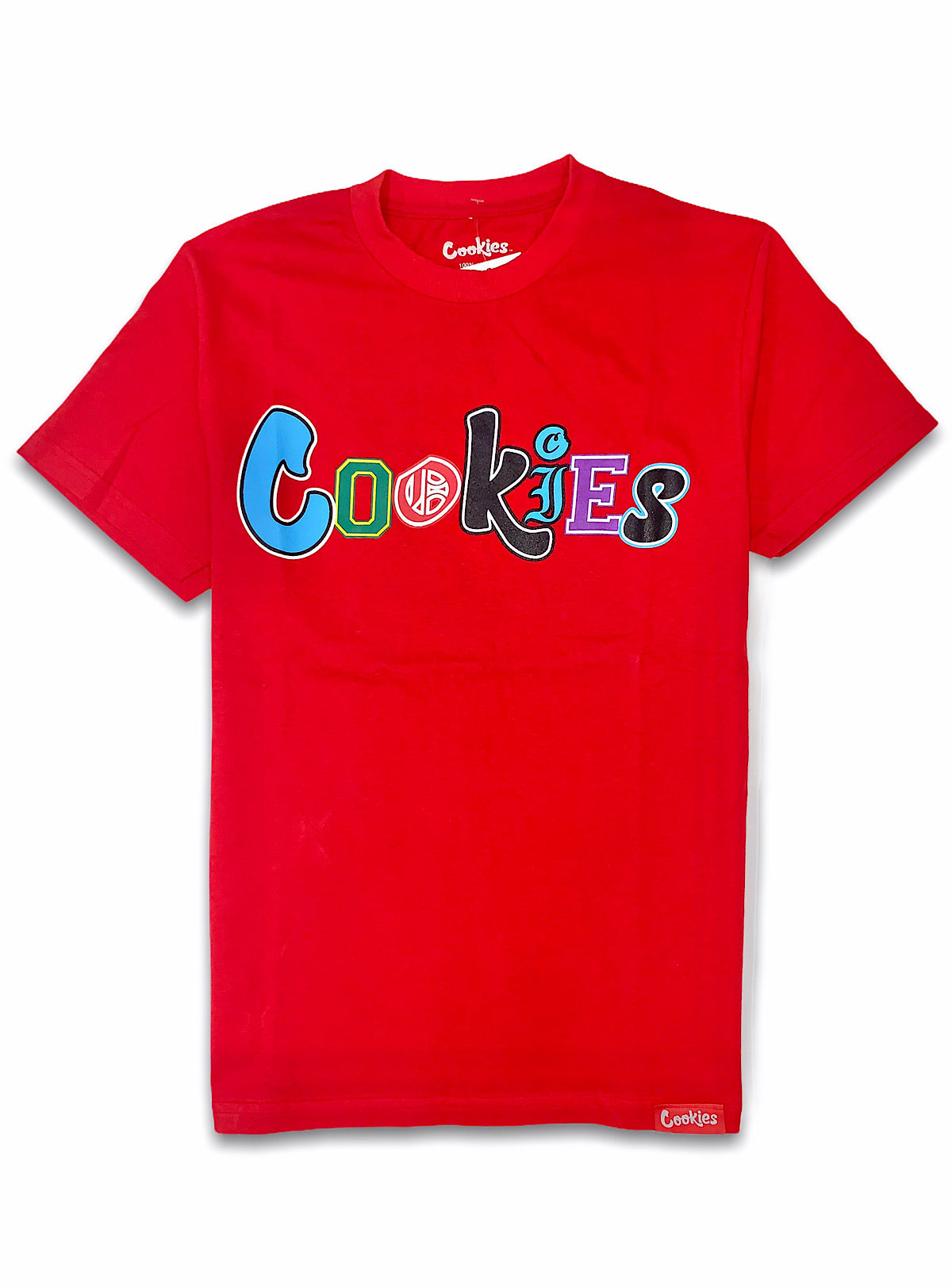 Cookies T-Shirt - City Limits Multi Logo - Red - 1545T4116