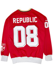 Buyer's Choice Sweatshirt - Jersey Style - Red - AC-6395