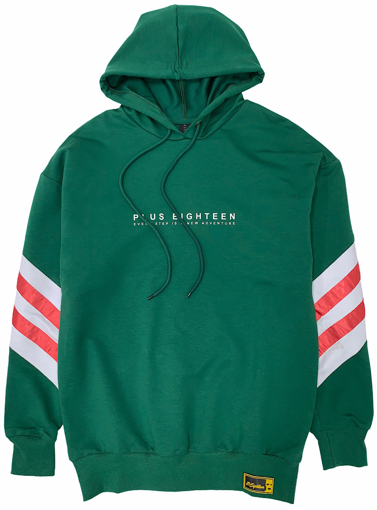 Buyer's Choice Hoodie - Every Step Is A New Adventure - Forest Green - ST-6513